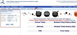 Required Details To Book The IRCTC Ticket