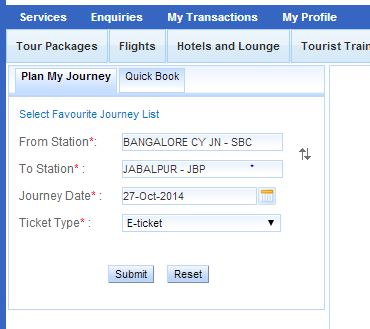 how to book train tickets online in irctc