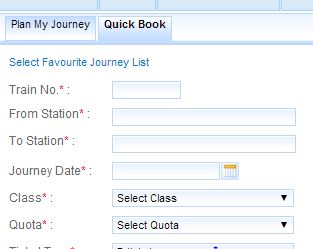 IRCTC Tatkal Booking Tricks
