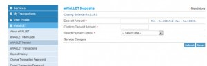 IRCTC eWallet Registration Link