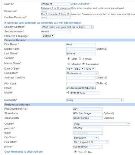 IRCTC login register