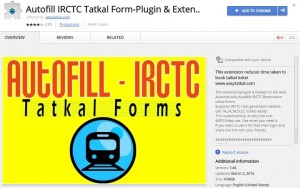 Tatkal Software 2016 EasyTatkal