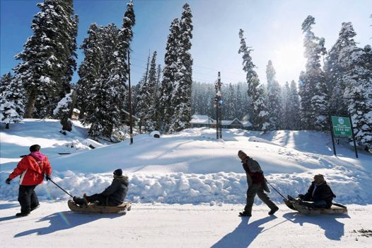 Gulmarg mesmerizing travel destinations in India