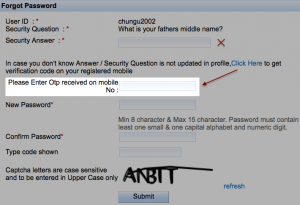 How to reset IRCTC password if dont know Security Question