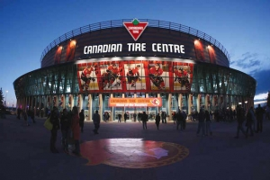Canadian Tire Center Fron Gate