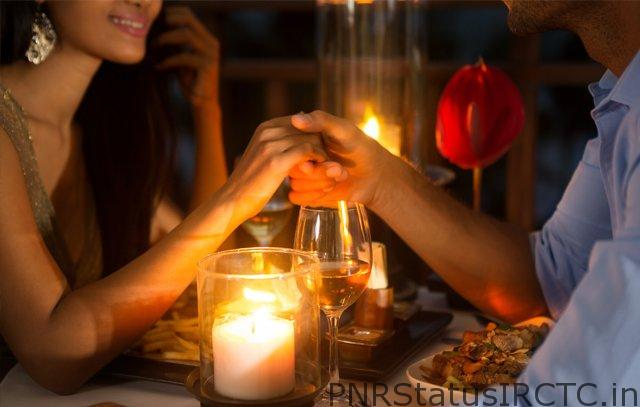 Have a candle light dinners on the romantic hotel