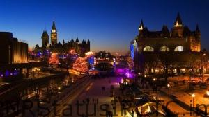 Rideau-Canal-Skateway-at-night-