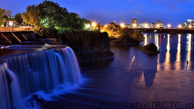 Rideau Falls – Awe-Inspiring Twin Waterfalls