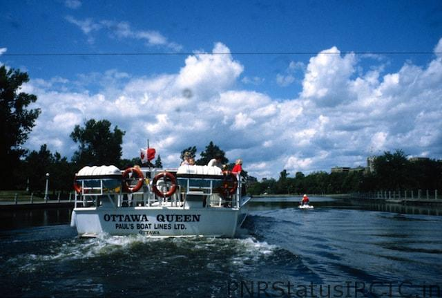 boat ride to explore this scenic Rideau Canal