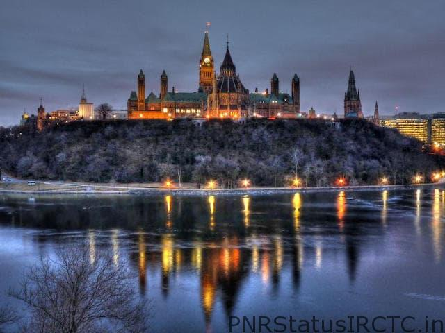 the parliament hill Ottawa