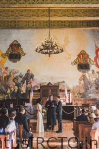 Story of Santa Barbara in the Mural room