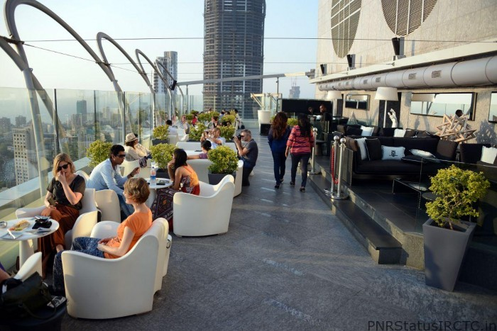 Mumbai Four Seasons Aer Rooftop Bar