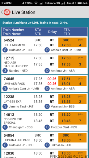 Good Indian Railway App with best features for Android