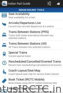Top Indian Railway app for Android phones