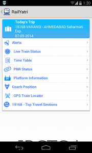 Best India Railway app for Android