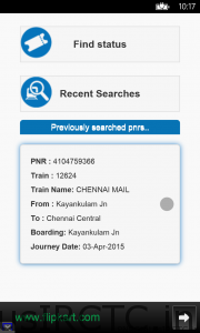 Good Indian Railway App for android