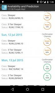 Great Indian Railway app in 2017