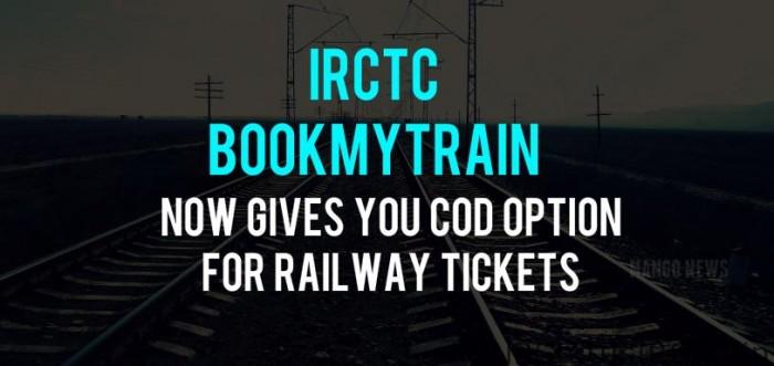 IRCTC Train Ticket COD