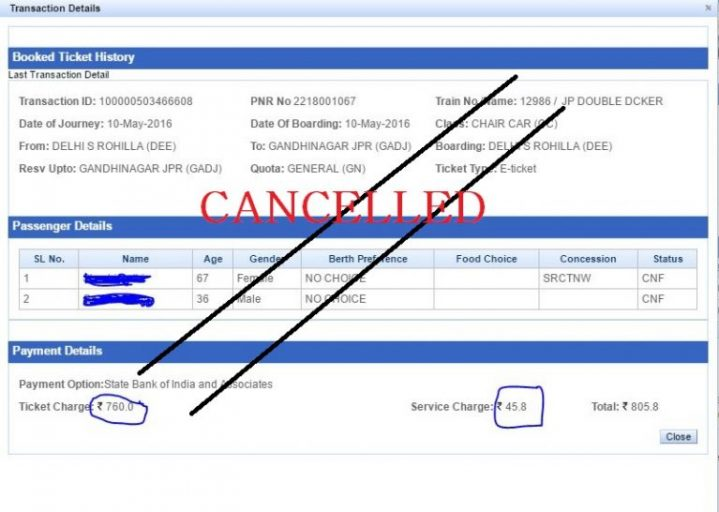 irctc-cancellation-charges