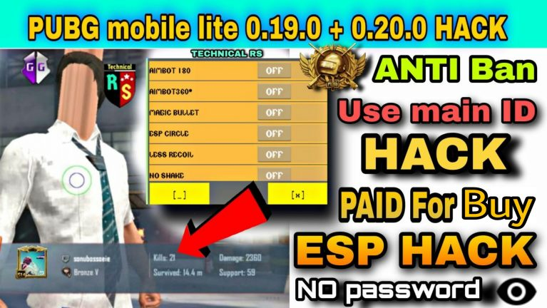 how to hack pubg mobile lite