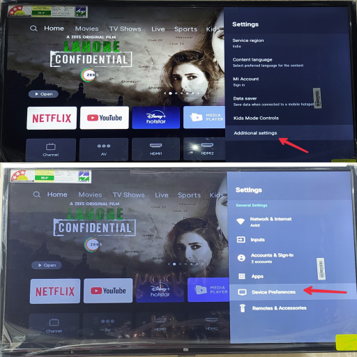 mi tv connect to wifi