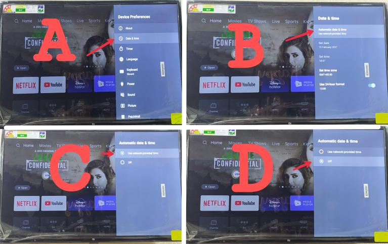 mi tv connection problem