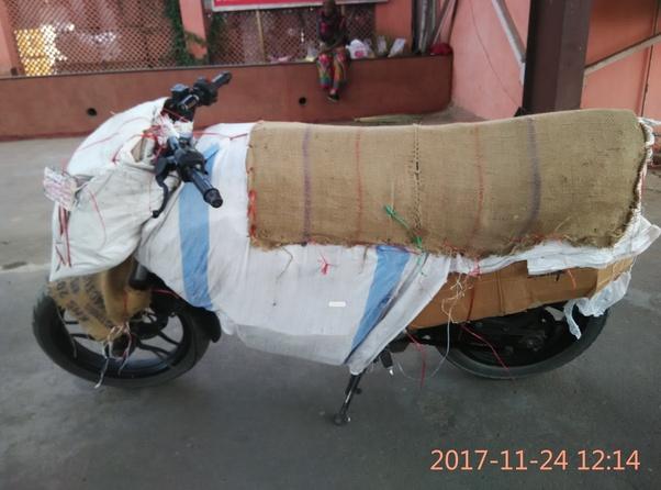 send bike by train
