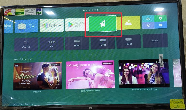 smart tv connect to wifi