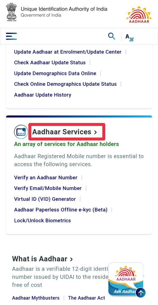 how to generate aadhaar virtual id online